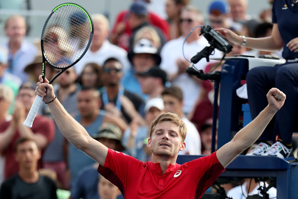 US Open: David Goffin battles past Pablo Carreno-Busta and into the fourth round