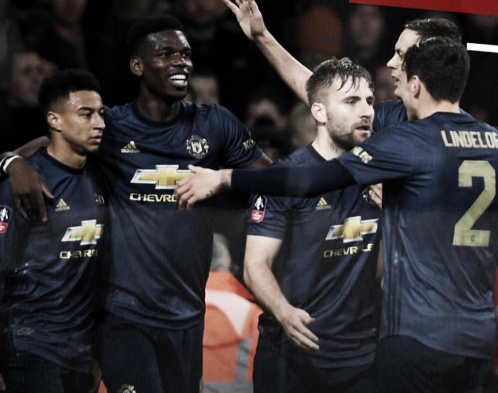 Manchester United segue embalo, elimina Arsenal e avança para às oitavas da Copa da Inglaterra