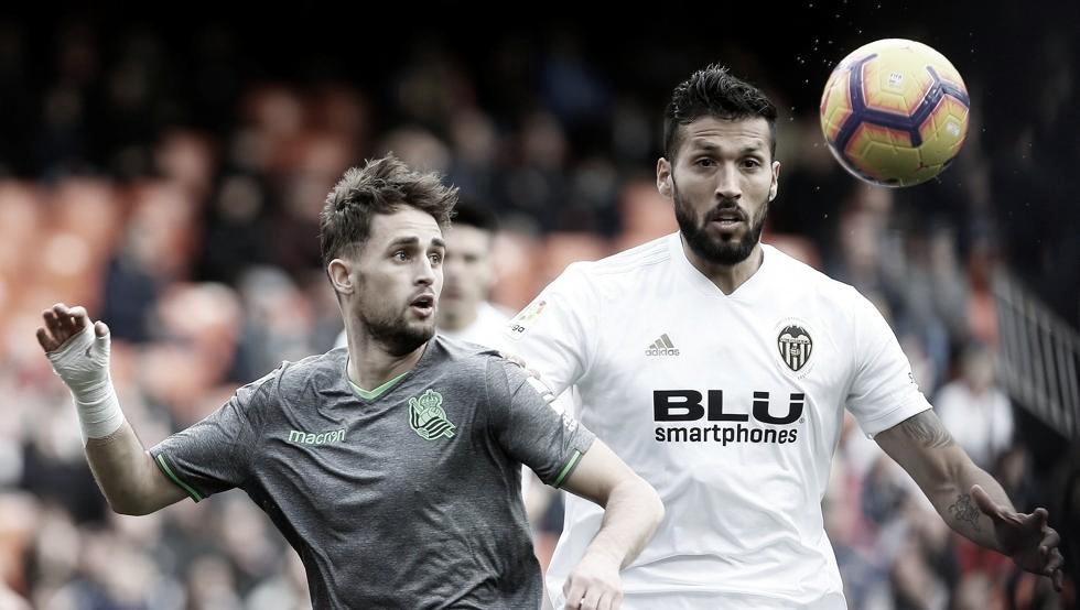 Previa Valencia vs Real Sociedad: la Real tratará de aprovechar los nubarrones valencianistas