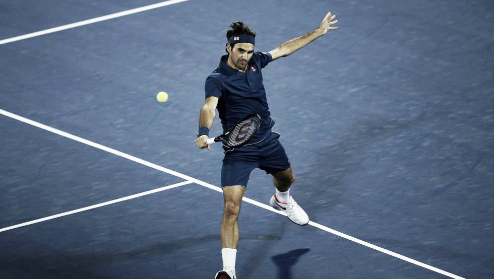 Federer ganó y se metió en los cuartos de final de Dubai
