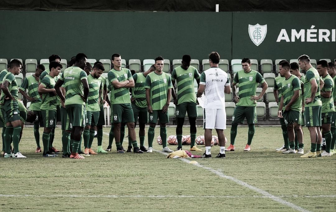 Após oito anos, América-MG mira terminar primeira fase do Mineiro como líder