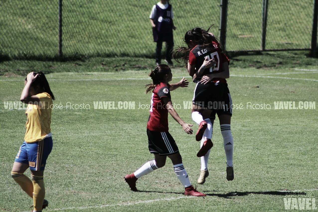 Ascenso rojinegro a liderato de grupo tras vencer a Tigres Femenil