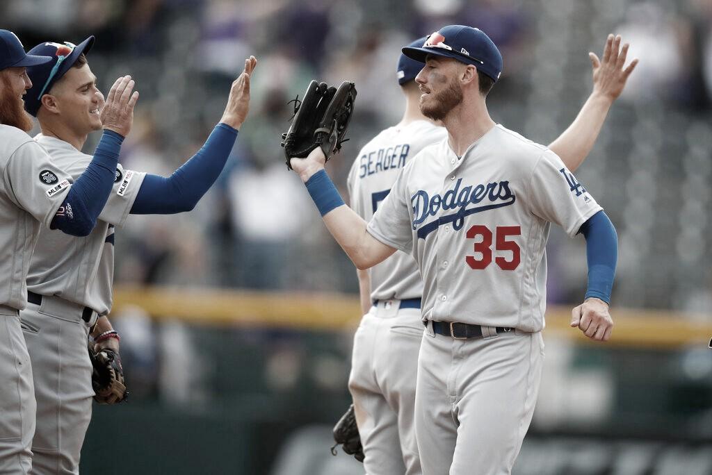 Los Dodgers alcanzan las 20 victorias