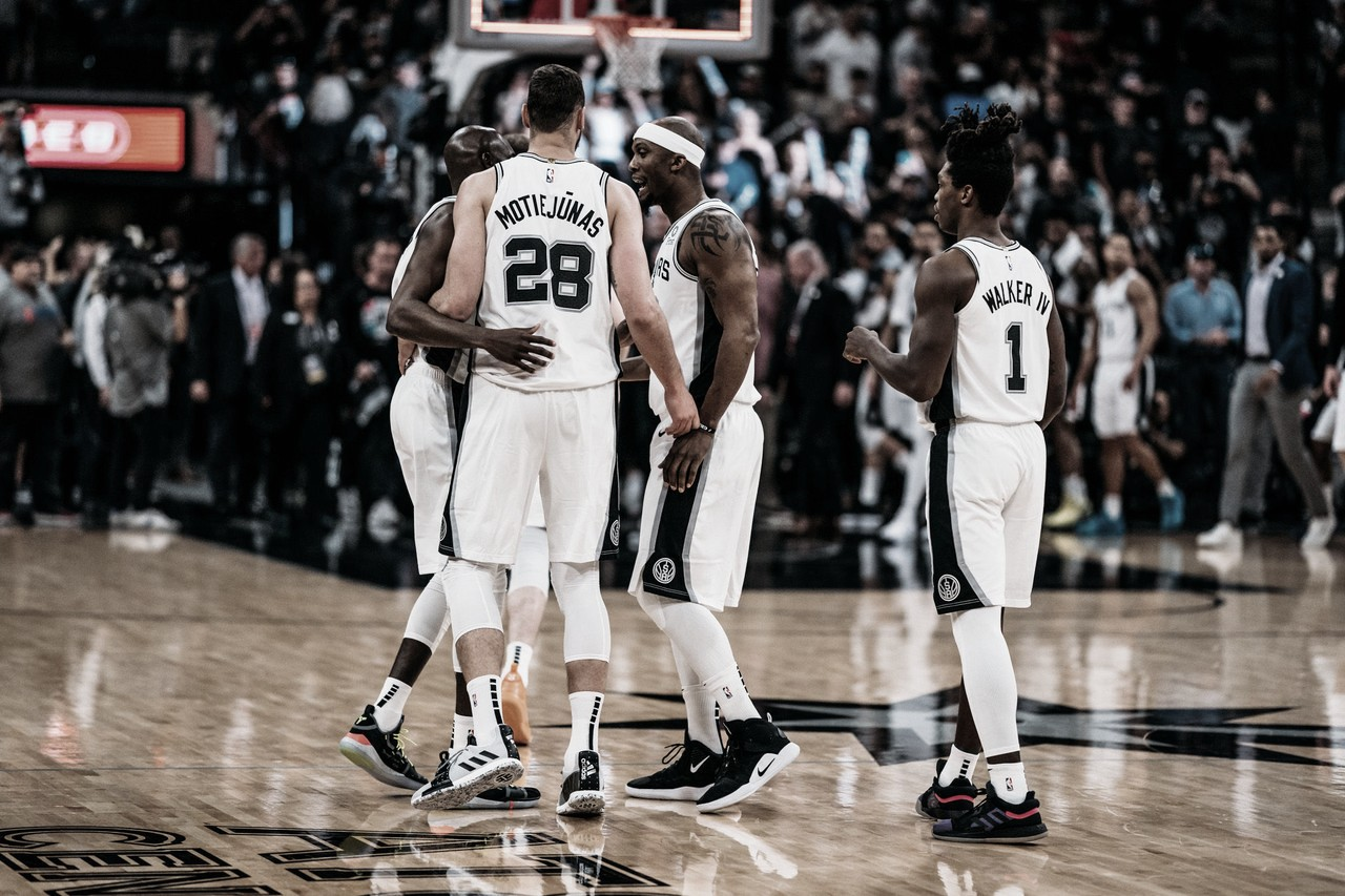PlayOffs NBA: San Antonio ganó de local y empató la serie 3-3