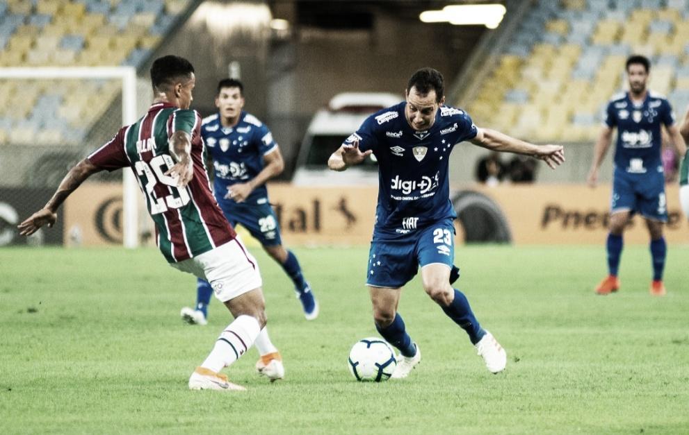 Fluminense empata com Cruzeiro e deixa classificação da Copa do Brasil em aberto