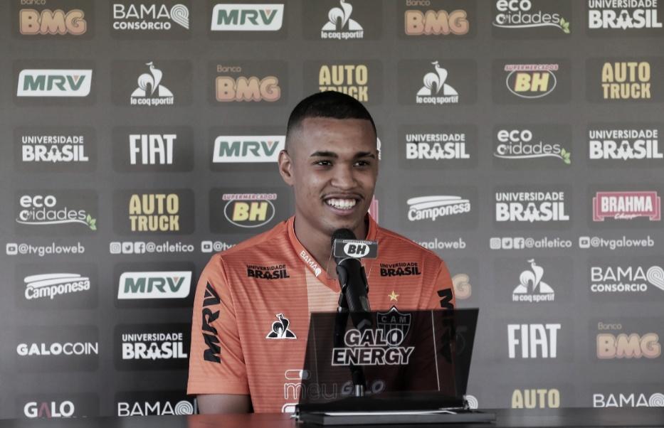 Alerrandro aumenta sombra em Ricardo Oliveira e se diz confiante com seu momento