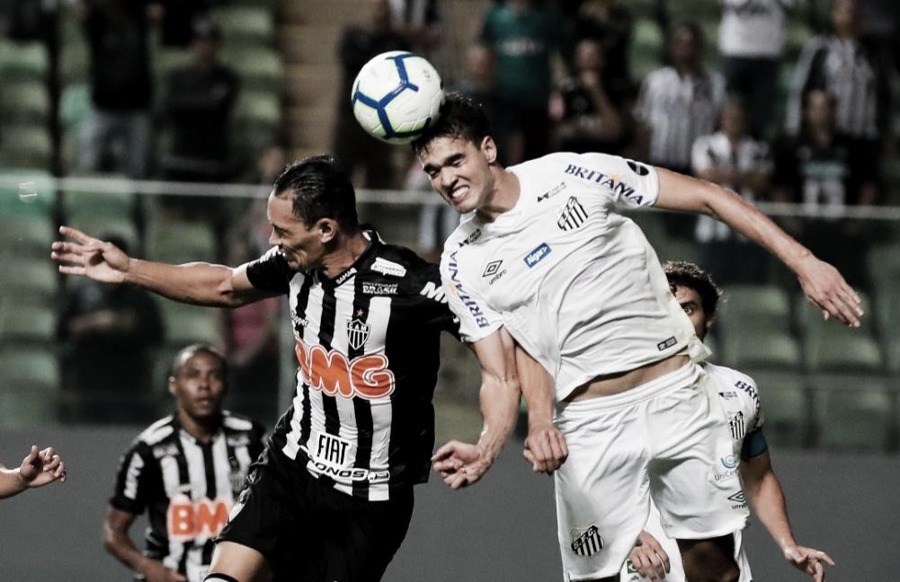 Santos e Atlético-MG se enfrentam em busca da vaga para as quartas da Copa do Brasil
