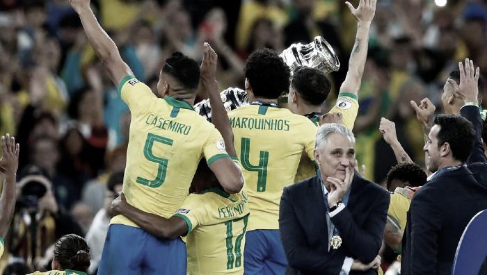 Así llega Brasil al encuentro ante Colombia