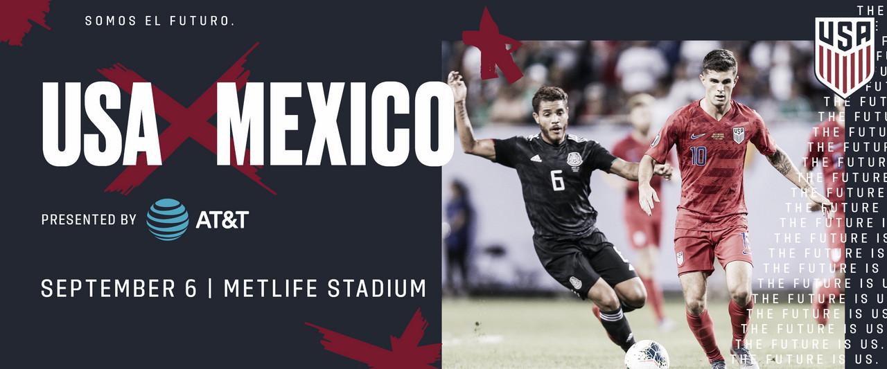Estados Unidos jugará con México y Uruguay