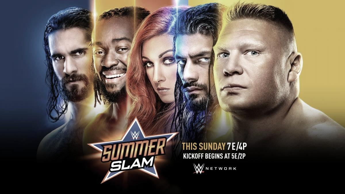 Cartelera SummerSlam 2019