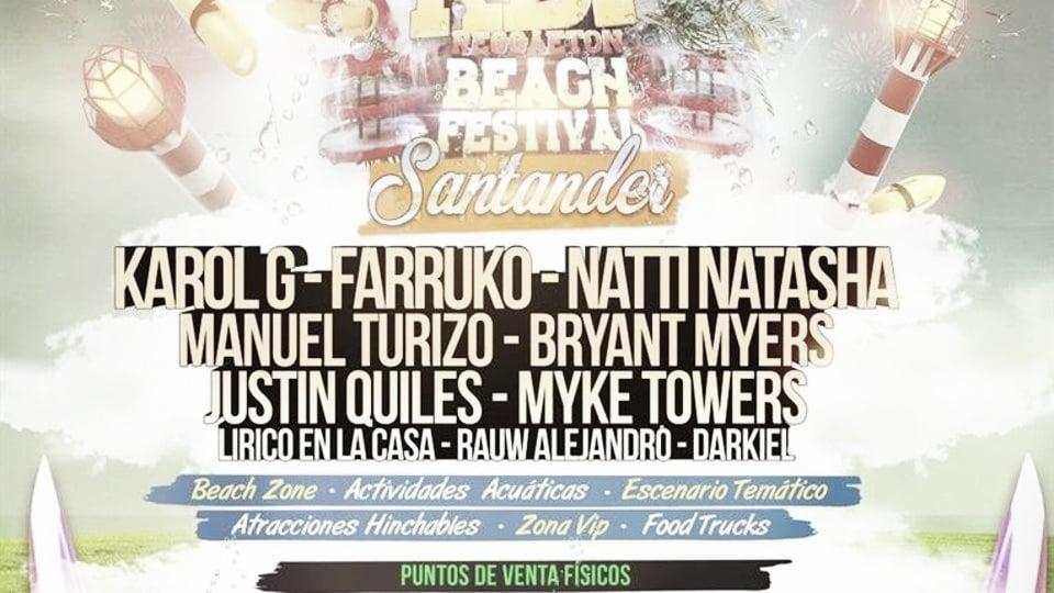 15.000 personas en la primera edición del Reggaeton Beach Festival en Santander