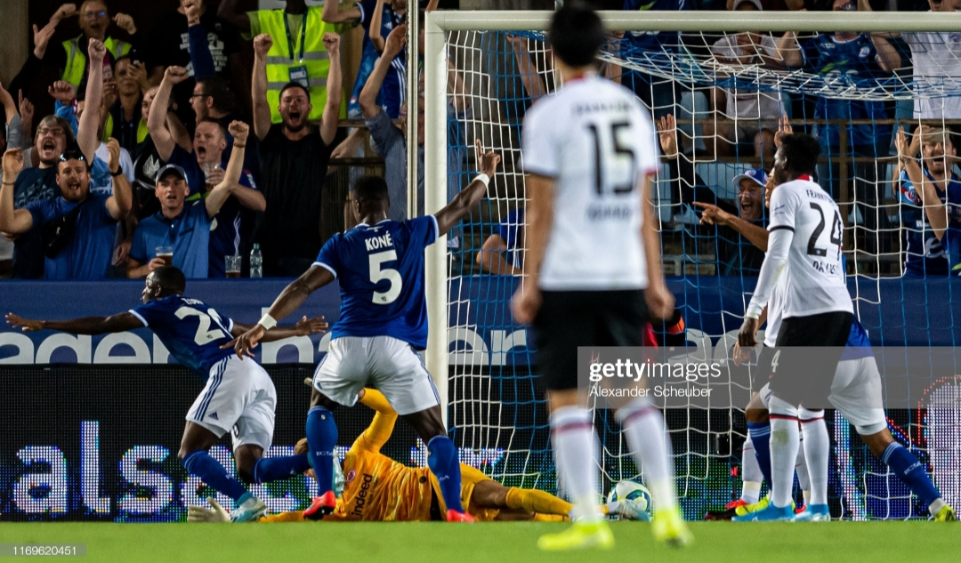 RC Strasbourg 1-0 Eintracht Frankfurt: UEFA Europa League Play-Off