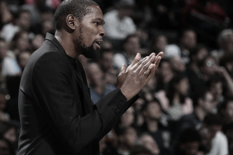 Ala-pivô do Brooklyn Nets, Kevin Durant é diagnosticado com coronavírus
