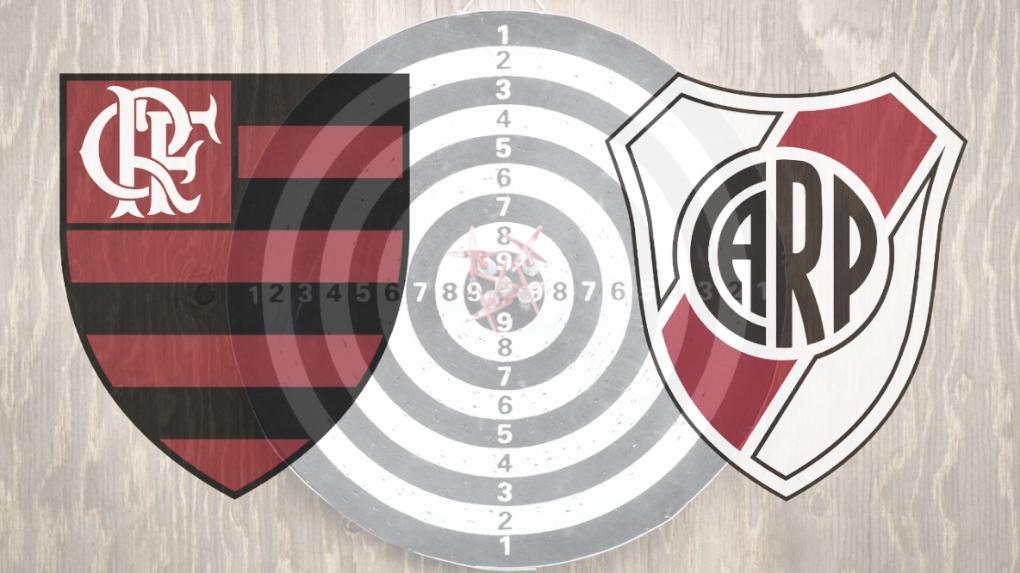 Flamengo x River Plate: a competência de ambos nas finalizações