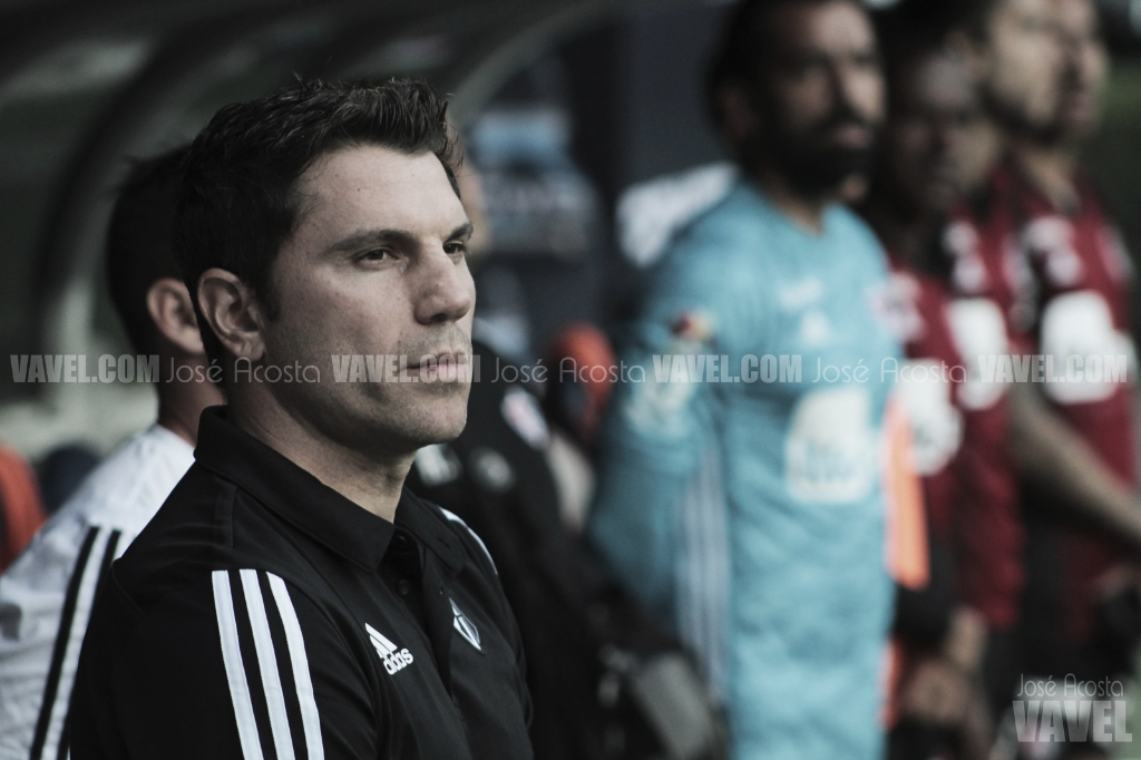 Leandro Cufré deja de ser técnico de Atlas