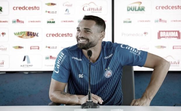 Gilberto exalta Bahia e fala da evolução do time sob comando de Roger Machado
