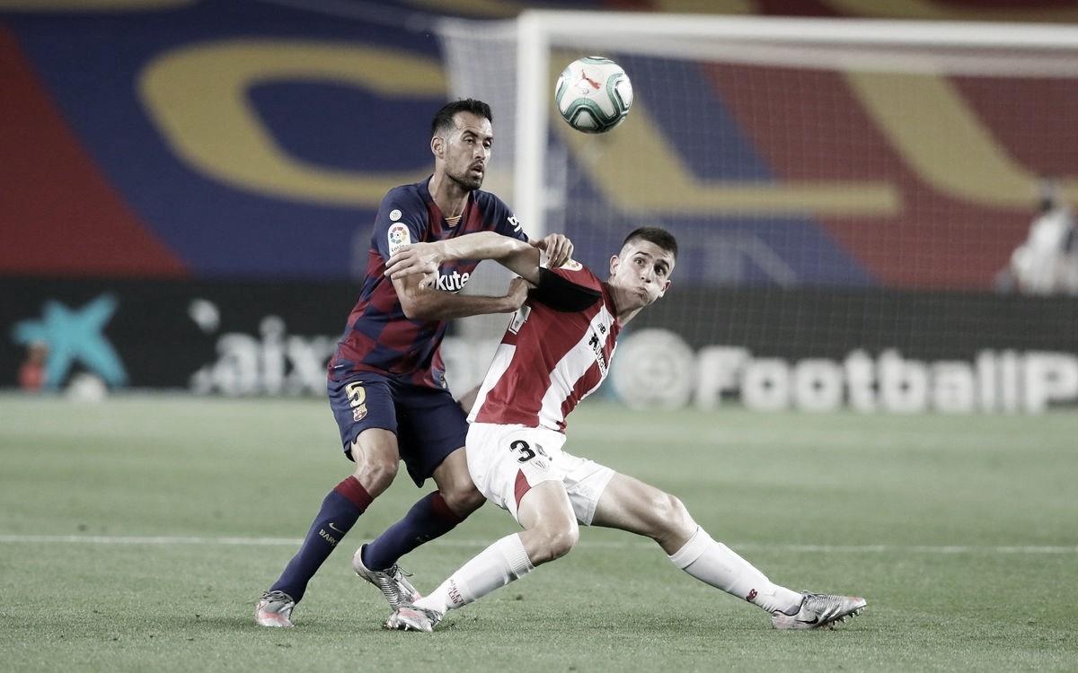Un Barça sin ideas derrota a una combativa segunda unidad del Athletic