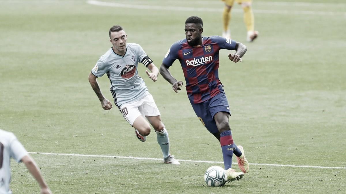 Barcelona cede empate ao Celta com gol de Aspas no fim