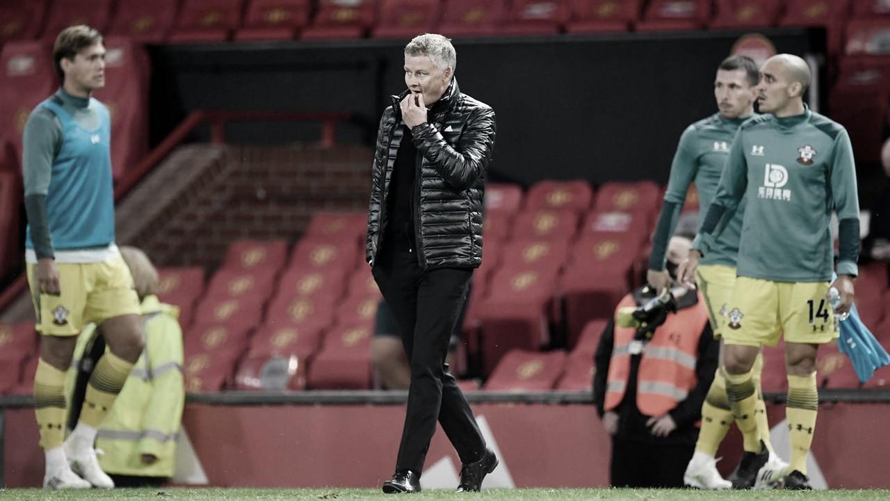 """Solskjaer lamenta gol sofrido pelo Man United no fim, mas destaca: """"Faz parte do aprendizado"""""""