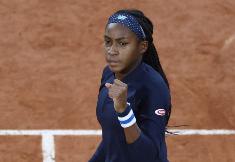 French Open: Cori Gauff upsets Johanna Konta in straight sets