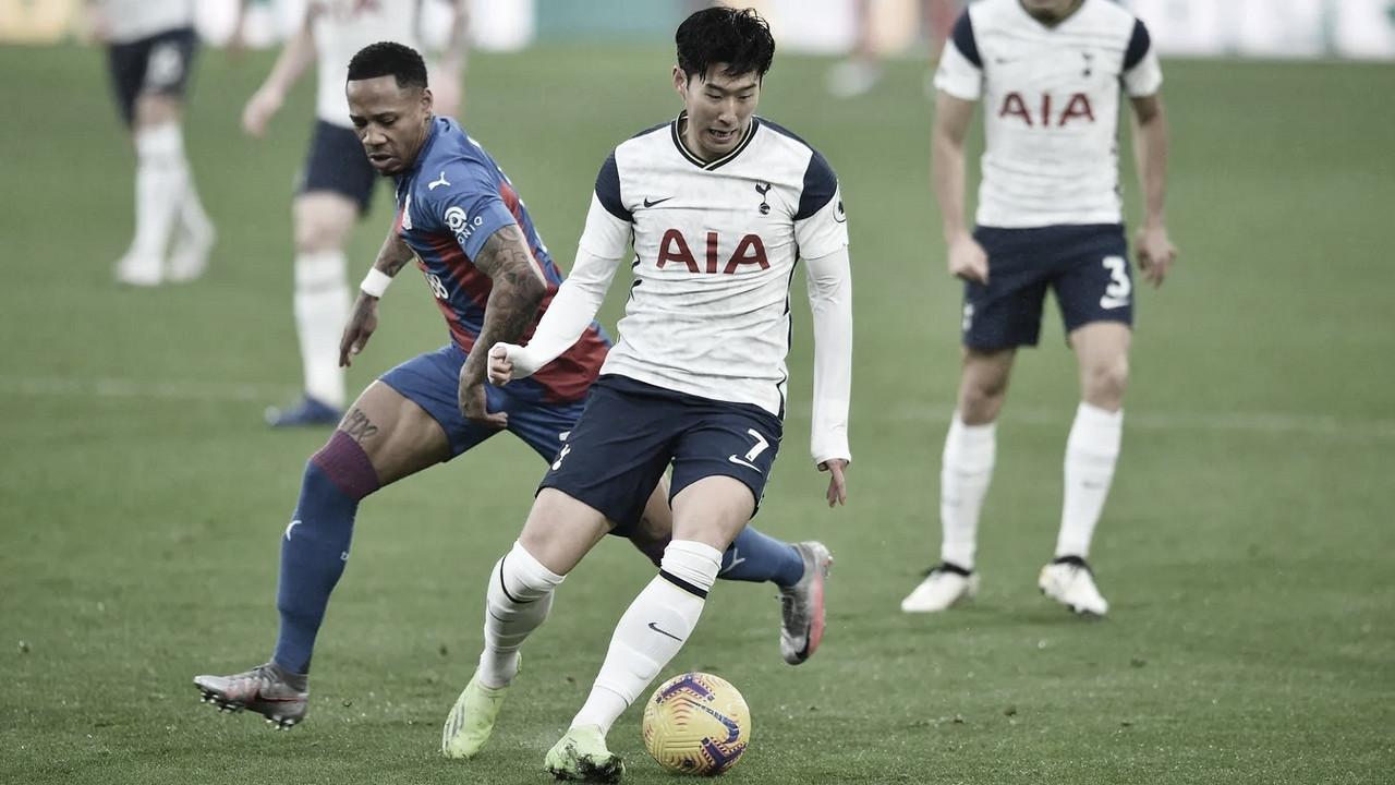 Tottenham tropeça, empata com Crystal Palace e tem liderança ameaçada