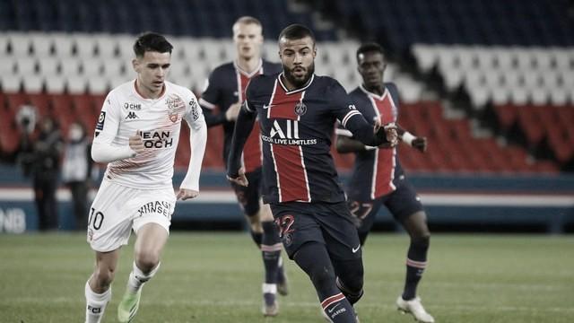 Gols e melhores momentos de Lorient 3 x 2 PSG pelo Campeonato Francês