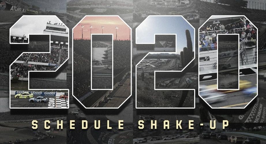 NASCAR presenta su calendario 2020