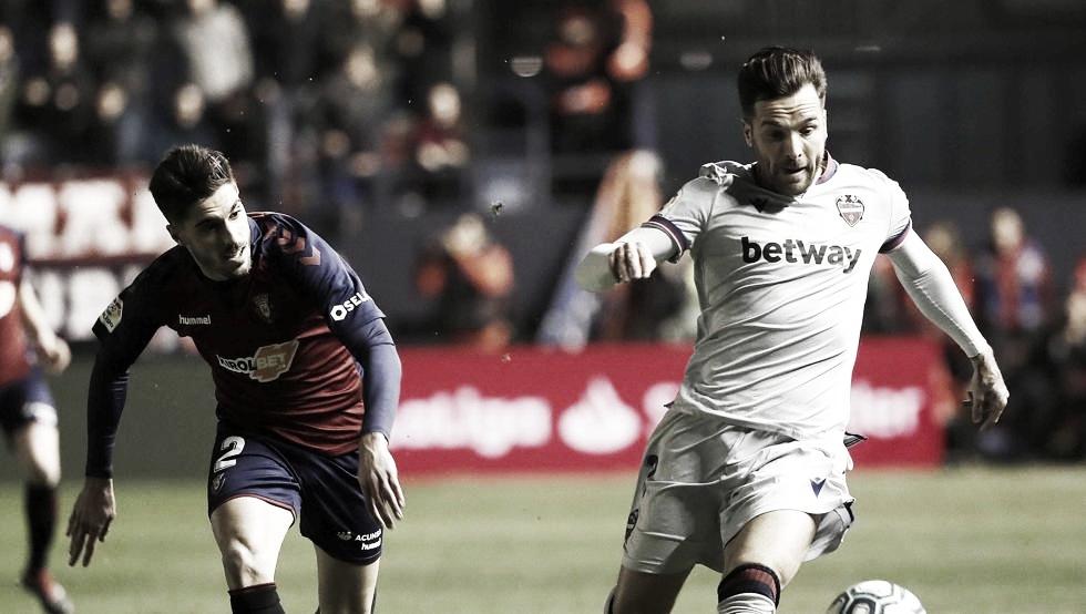 Previa Osasuna - Levante: Volver a ganar en El Sadar