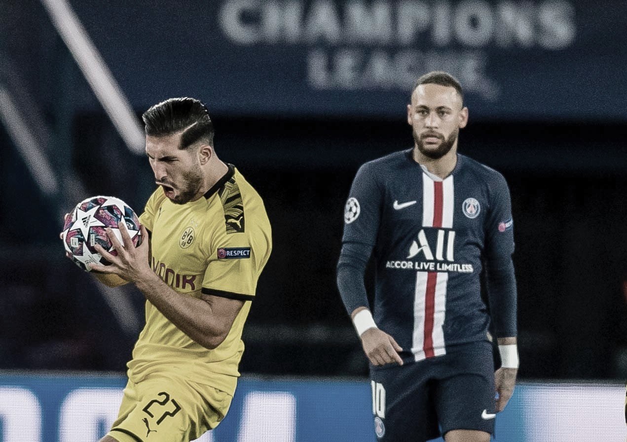 Dortmund esbarra em erros, PSG aproveita e avança para as quartas da Champions League