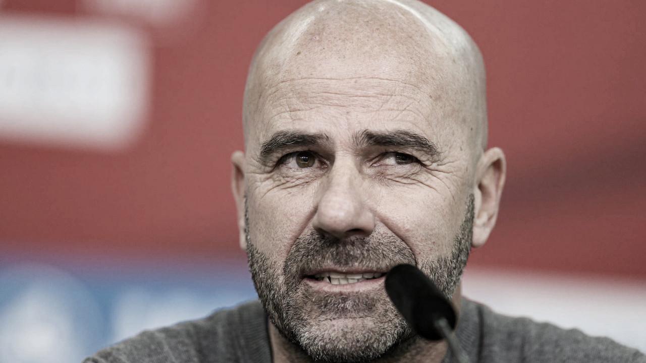Peter Bosz destaca evolução e celebra boa fase do Leverkusen após vencer Mönchengladbach