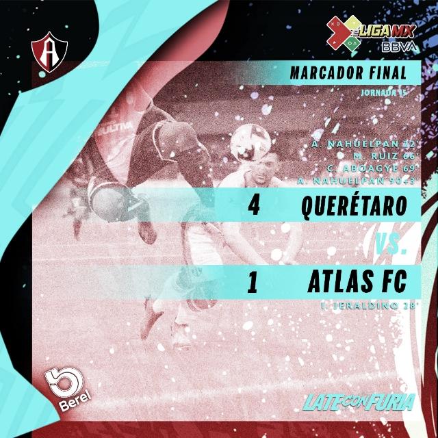 Gallos deja a Atlas al borde de la eliminación en la e Liga MX