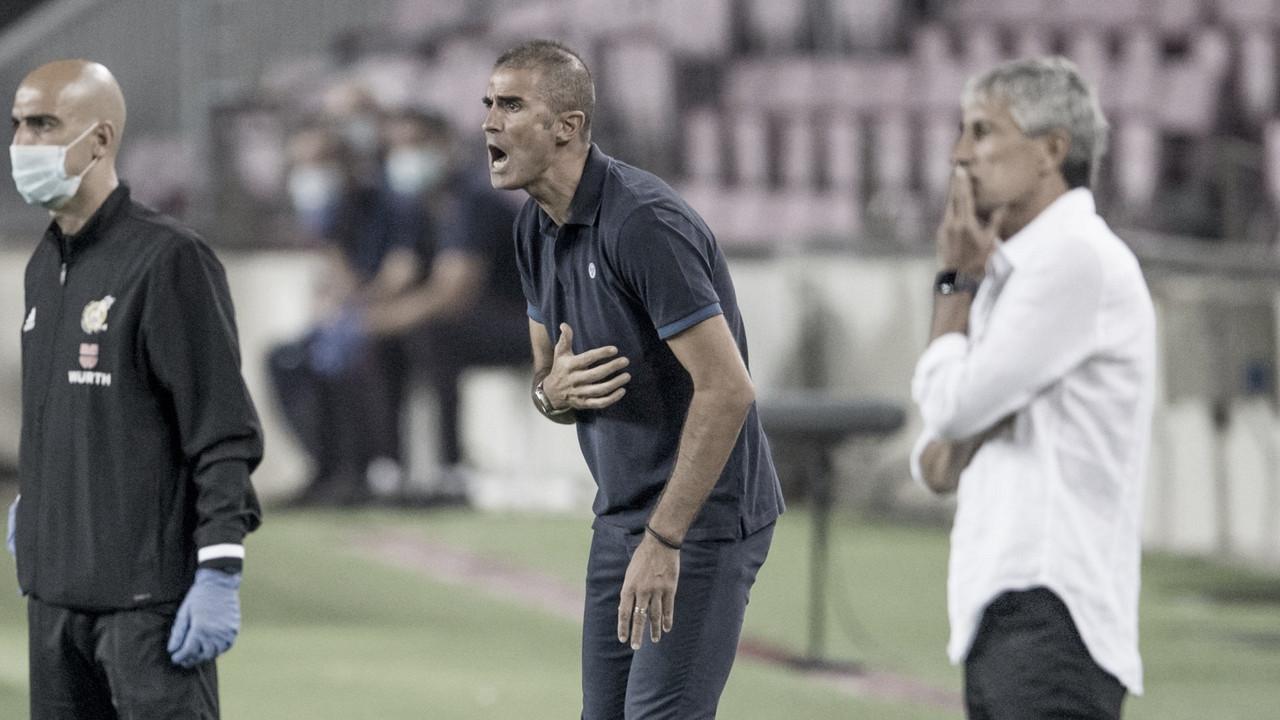 """Garitano: """"Mientras hemos aguantado enteros, el equipo ha hecho un gran trabajo"""""""