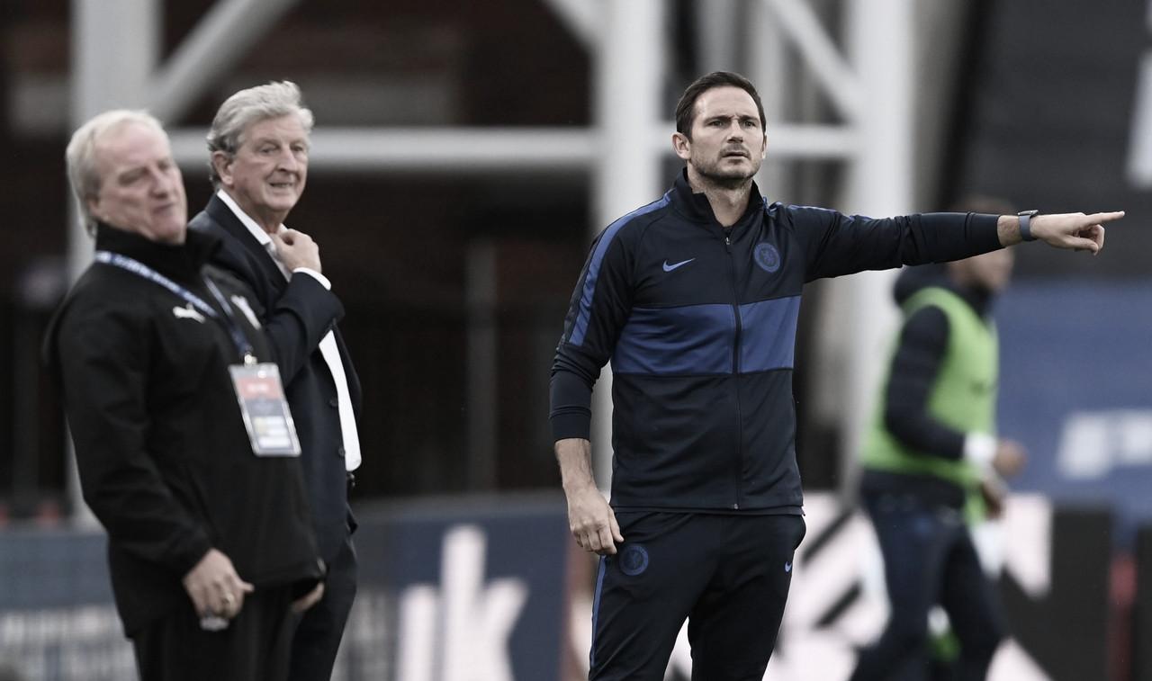 """Lampard celebra vitória, mas alerta: """"Temos o que aprender"""""""