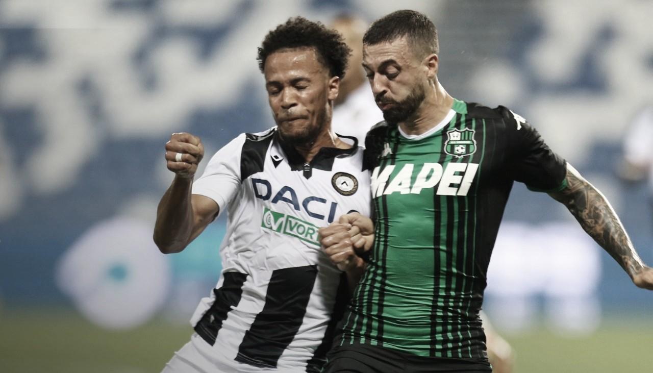 Com gol de Okaka, Udinese vence Sassuolo no encerramento do Italiano
