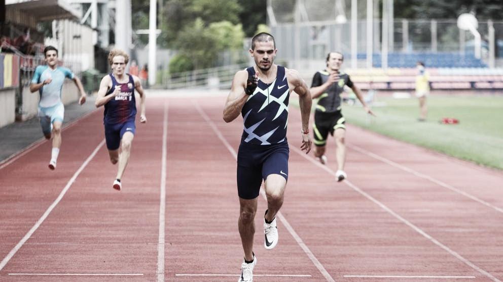 Bruno Hortelano bate la mejor marca española de 150ml con 15.42
