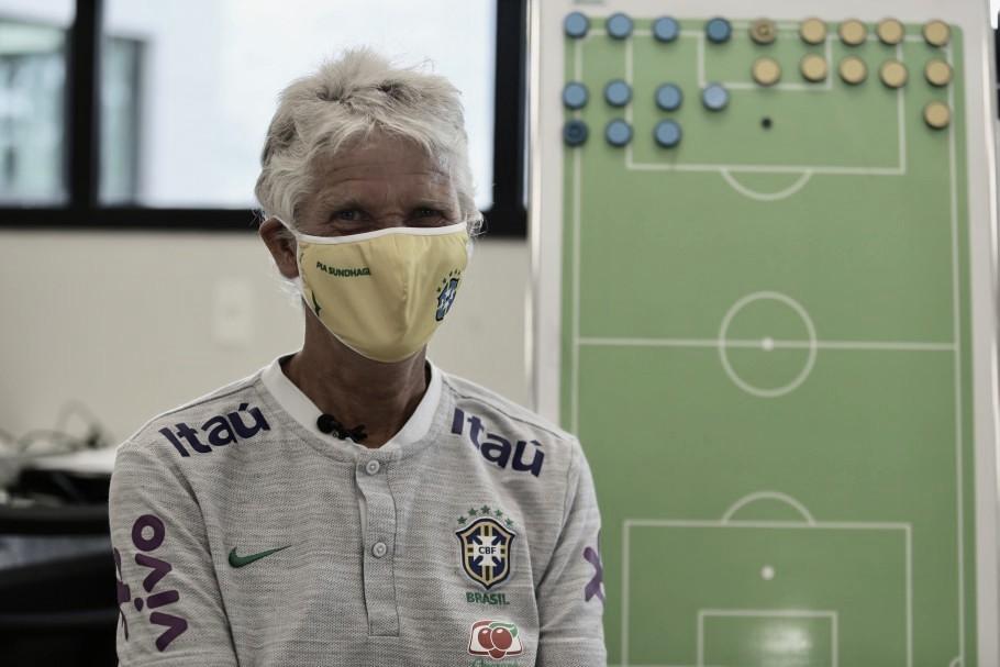 Por conta da pandemia, Pia Sundhage convoca Seleção com apenas jogadoras no país