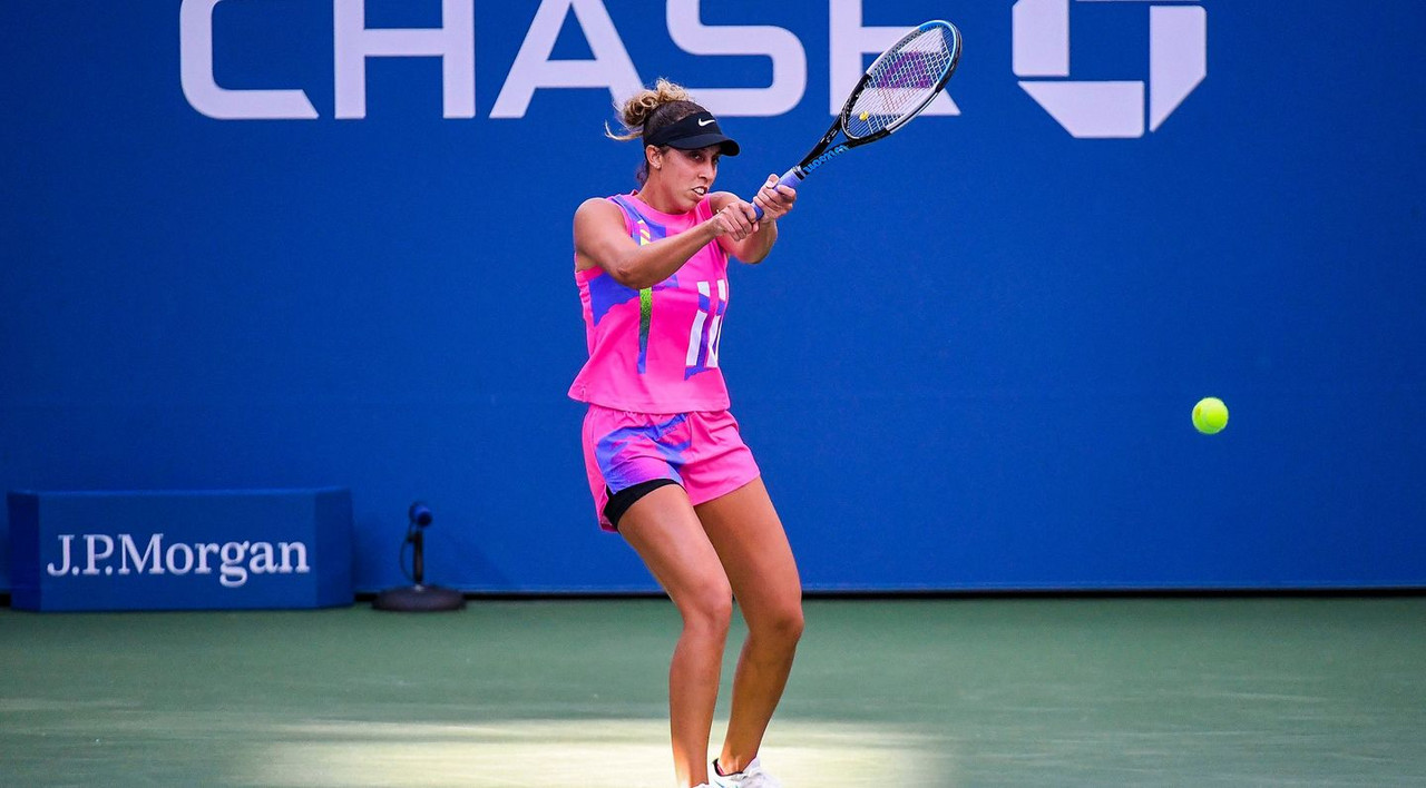 US Open: Madison Keys crushes Timea Babos in first round