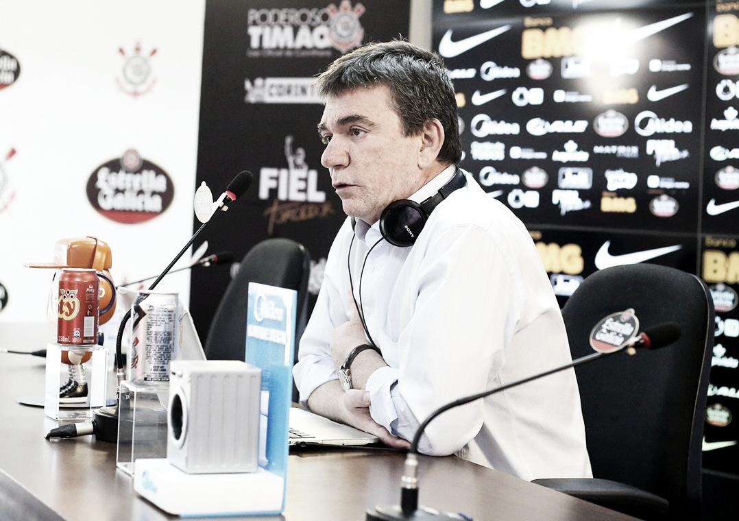 Andrés Sanchez diz que atletas do Corinthians estão assustados, mas se recuperando após ameaças