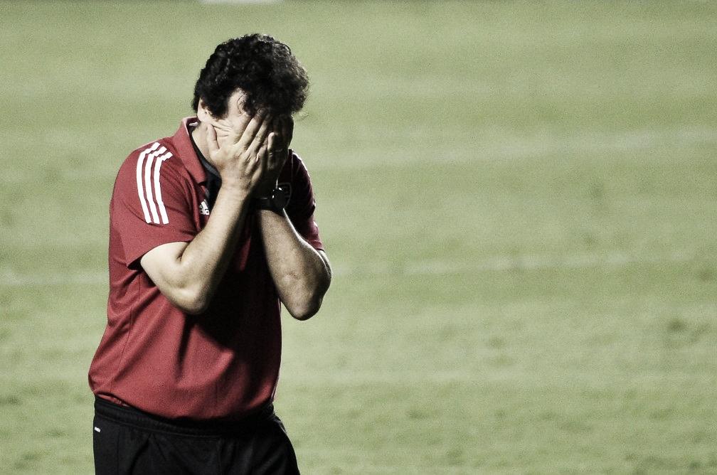 """Diniz elogia o River Plate e aponta erros do São Paulo: """"Tínhamos mais chances de vencer"""""""