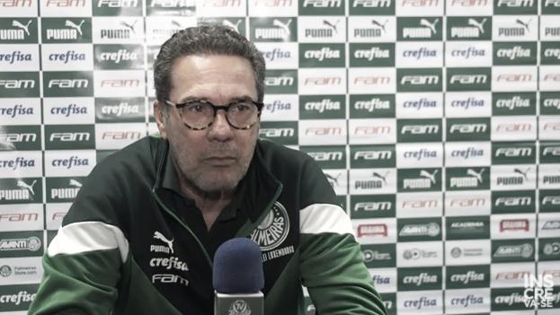 """Luxemburgo lamenta empate nós acréscimos: """"Faltou segurar a bola no ataque"""""""