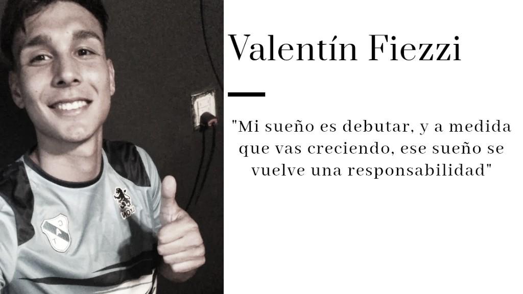 Valentín Fiezzi en exclusiva con VAVEL. Foto: Prensa Temperley