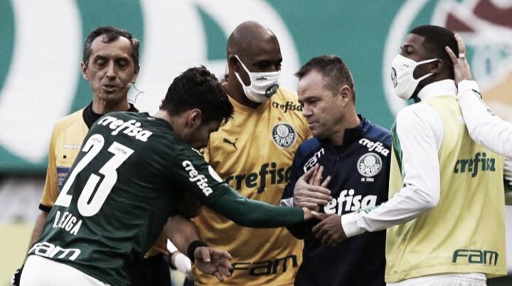 """Andrey Lopes se desculpa por cartão e comenta chegada de Abel Ferreira: """"Vamos construir juntos"""""""