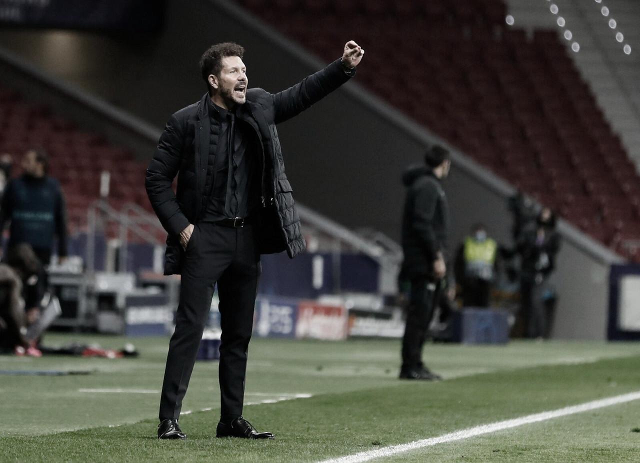 "Simeone: ""Vivimos del próximo partido"""