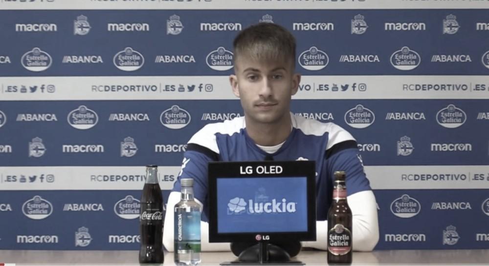 """Yago Gandoy: """"Los que partimos desde el banquillo le estamos portando frescura al equipo"""""""