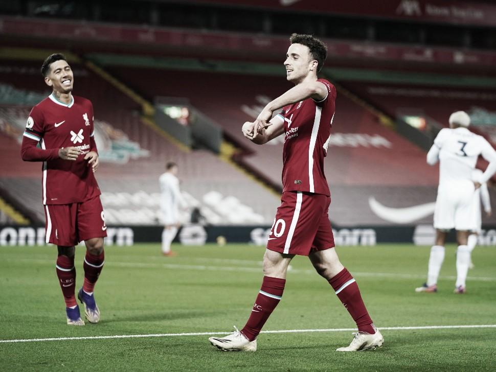 En su mejor versión, el Liverpool goleó al Leicester