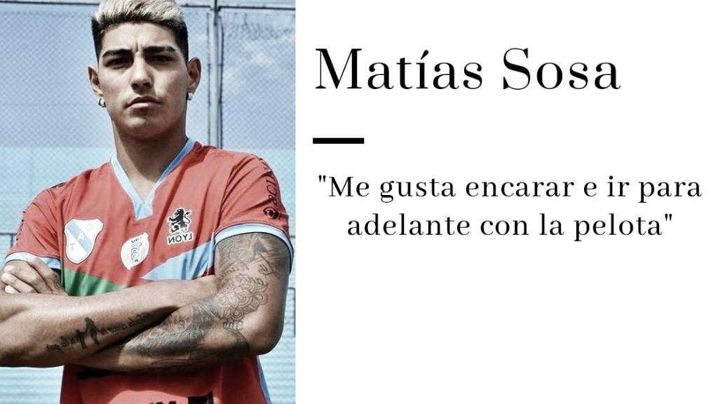 """Matías Sosa: """"Esto fue algo que esperé, lo deseé y trabajé mucho para poder lograrlo, estoy muy feliz por eso"""""""