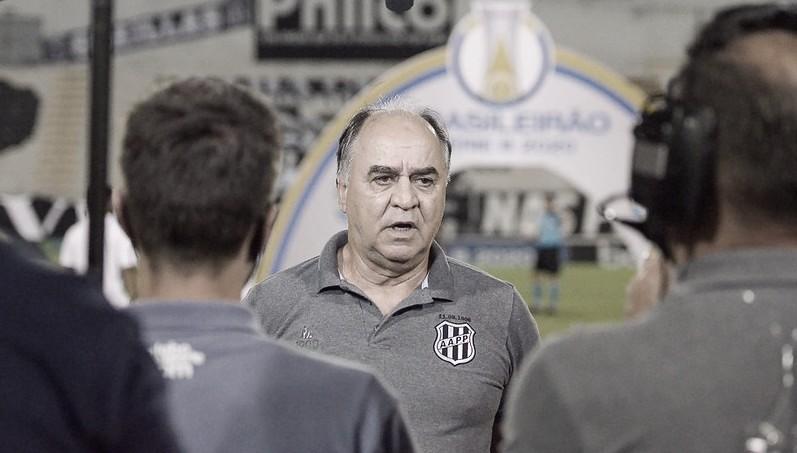 """Marcelo Oliveira salienta superioridade da Ponte Preta sobre Paraná: """"Mereceu a vitória"""""""