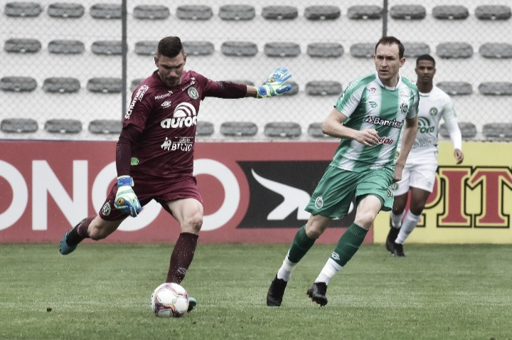 Com gols no segundo tempo, Juventude sai na frente, mas cede empate à Chapecoense