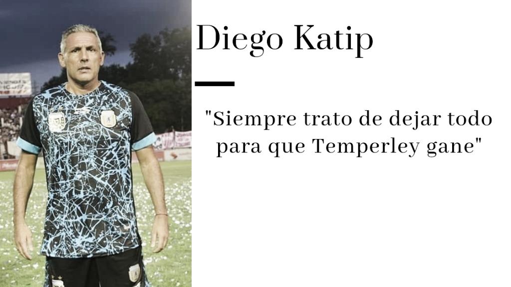 """Diego Katip: """"Siempre que me pongo la camiseta de Temperley se me vienen muchas cosas a la cabeza"""""""