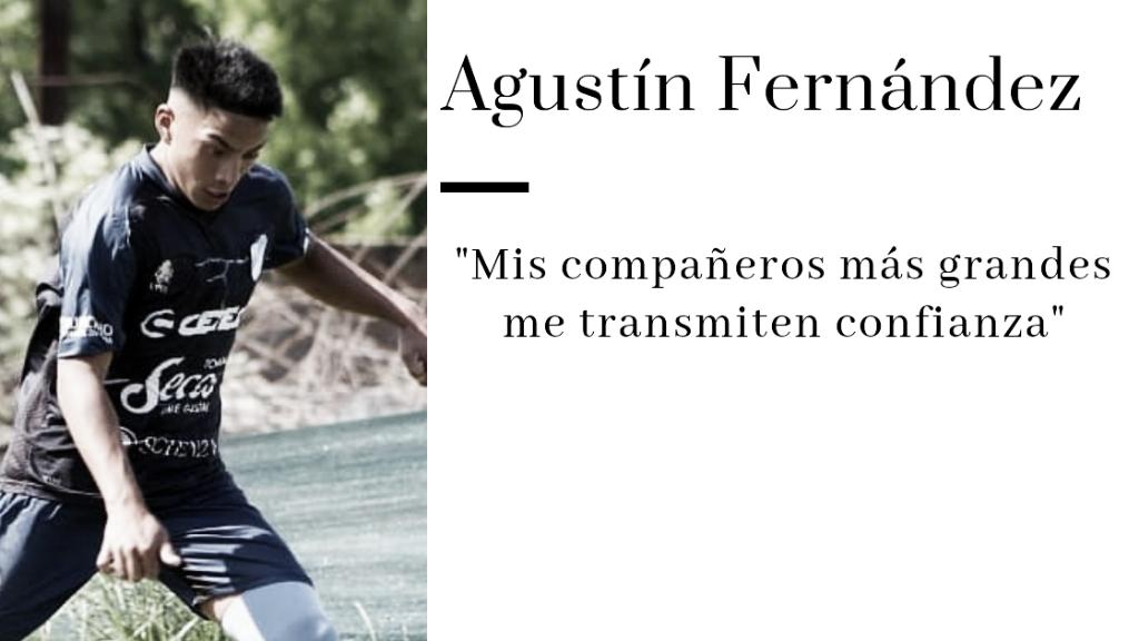 "Agustín Fernández: ""Cristian nos dice que no bajemos los brazos"""
